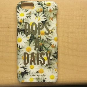 "Kate Spade ""oops a daisy"" phone case"